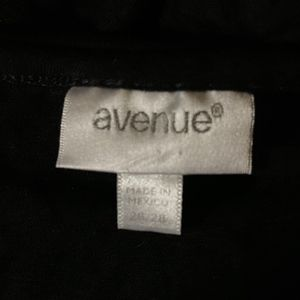 Avenue Tops - Avenue Color Block Asymmetrical Top 26/28